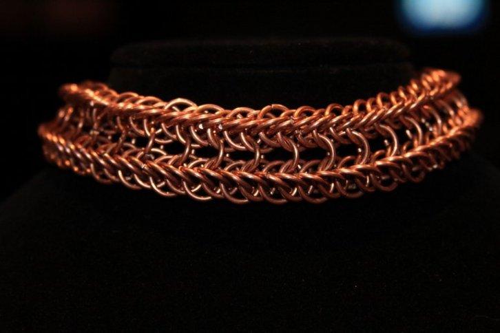 Copper coated choker